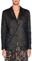 Giorgio Armani Three-Button Classic Jacket, Dark Navy