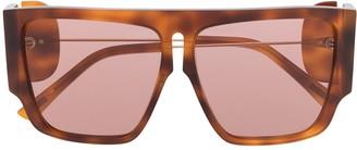 Ports 1961 Oversized Tortoiseshell Sunglasses
