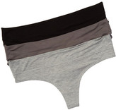 Honeydew Intimates Heather Thong - Pack of 2