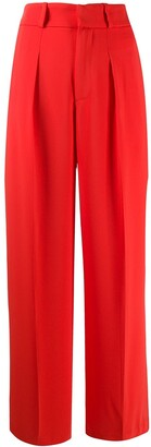 P.A.R.O.S.H. pleated wide leg trousers