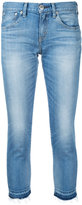 Red Card cropped skinny jeans - women - Cotton/Polyurethane - 25