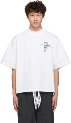 Pyer Moss Reebok By Reebok by White Collection 3 Graphic T-Shirt