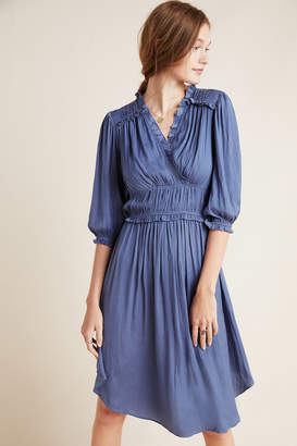 Current Air Draper Ruffled Dress