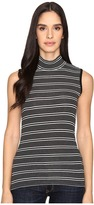 ATM Anthony Thomas Melillo Engineered Stripe Sleeveless Mock Neck Women's Sleeveless