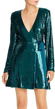 Ramy Brook Sequined Wrap Dress - 100% Exclusive