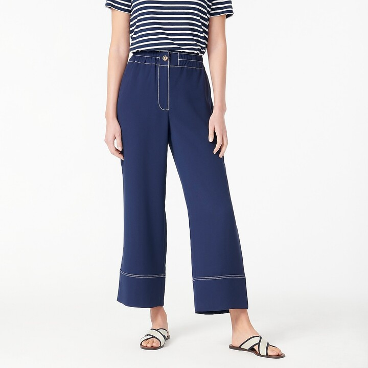 Thumbnail for your product : J.Crew Pull-on crop pant in 365 crepe