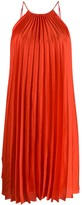 Stella McCartney Tie-Side Pleated Dress