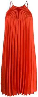 Stella McCartney tie-side pleated dress