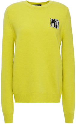 Markus Lupfer Mia Appliqued Wool Sweater