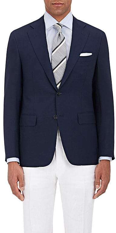 Canali Men's Capri Wool Two-Button Sportcoat