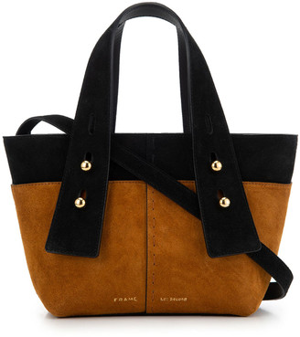 Frame Les Second Mini Suede Crossbody Tote Bag