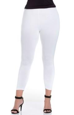 24seven Comfort Apparel Women's Plus Size Comfortable Ankle Length Leggings