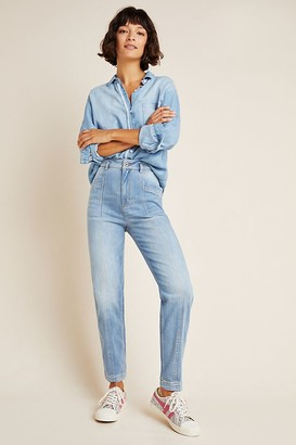 Pilcro And The Letterpress Pilcro Mid-Rise Relaxed Boyfriend Jeans
