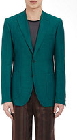 Bottega Veneta MEN'S TWO-BUTTON SPORTCOAT-TURQUOISE SIZE 48 EU
