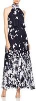 Aqua Sleeveless Blouson Gown - 100% Bloomingdale's Exclusive