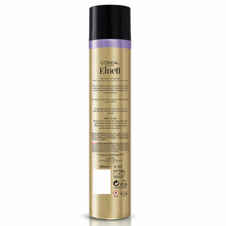 L'Oreal Hairspray by Elnett for Shine Dull Hair Strong Hold 400ml