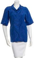 Marni Silk Button-Up Top
