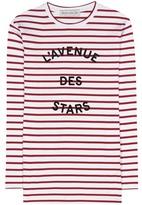 Être Cécile L'avenue Des Stars striped cotton top