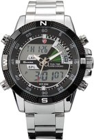 Shark SH047-US2 Men's Quartz Watch Sport Army Digital Analog Lcd/Chronograph/Date/Day