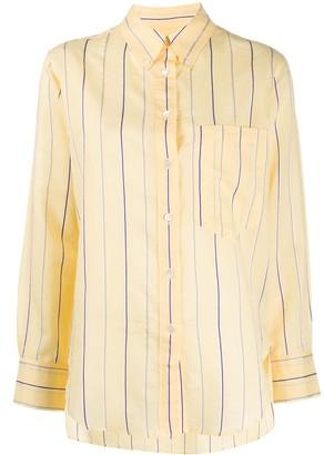 Etoile Isabel Marant striped long-sleeve shirt