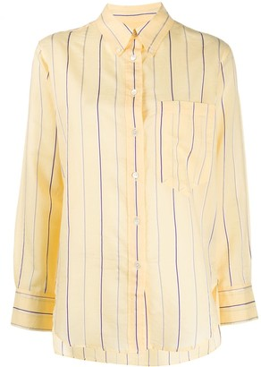 Etoile Isabel Marant Striped Long-Sleeve Shirt