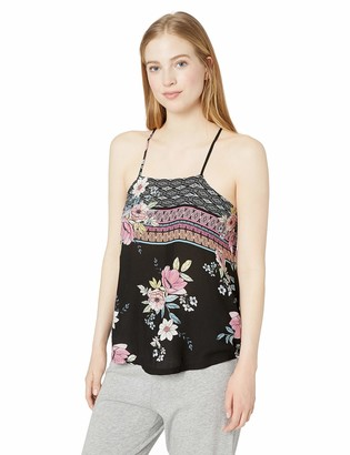 PJ Salvage Women's Lounge Pajama Cami Tank Top