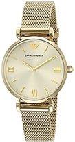Emporio Armani Women's AR1957 Retro Gold Watch