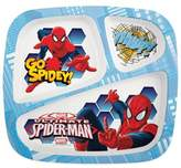 Marvel Zak! Designs® Spiderman Divided Kid's Dinner Plate
