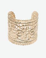 Le Château Metal Filigree Cuff Bracelet
