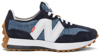 Levi's Levis Navy and Grey New Balance Edition 327 Sneakers