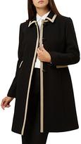 Hobbs Gweneth Coat, Black/Pottery