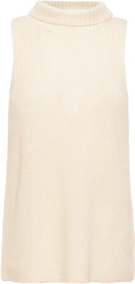 Theory Ribbed Wool-blend Top