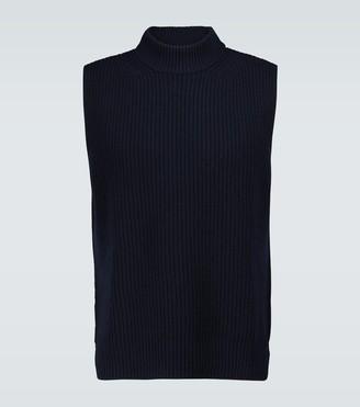 Marni Turtleneck sleeveless knitted vest