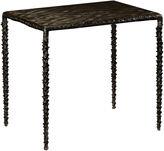 One Kings Lane Delamere Side Table, Antiqued Black