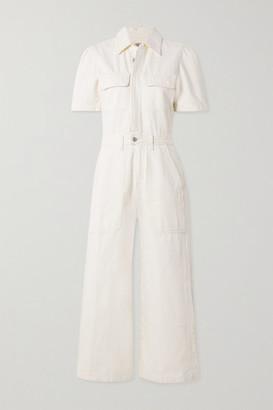 Citizens of Humanity Miki Organic Denim Jumpsuit - White