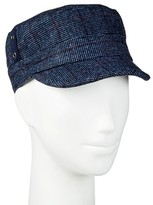 David & Young Women's Plaid Cadet Hat