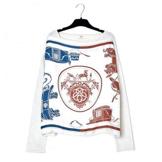 Hermes Ecru Cashmere Knitwear