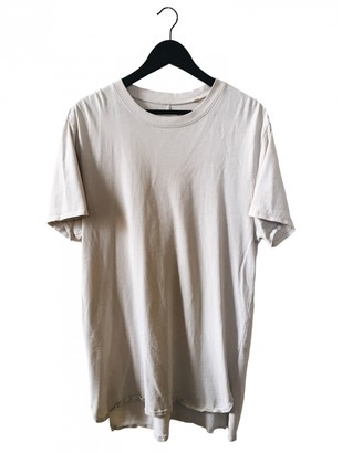 Fear Of God Beige Cotton T-shirts