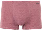 Hanro Striped Mercerised Cotton-jersey Boxer Briefs