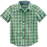 Carter's Baby Boy Plaid Button-Front Shirt