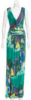 Etro Abstract Print Maxi Dress w/ Tags
