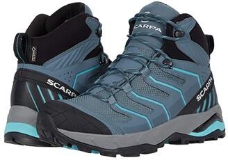 Scarpa Maverick Mid GTX (Storm Grey/Aqua) Women's Shoes