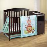 Kids Line Jungle Friends Crib Set - 4 Pc by