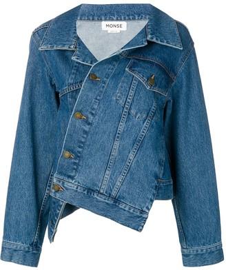 Monse Twisted Denim Jacket