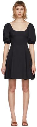STAUD Black Laelia Dress