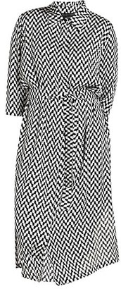 Marina Rinaldi, Plus Size Satin Shirtdress