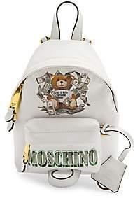 Moschino Women's Mini Dollar Bear Backpack