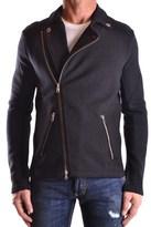 Balmain Men's Black Wool Jacket.