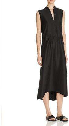 Vince Women's Rouched Sleeveless Dress