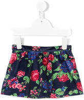 MSGM floral print skirt